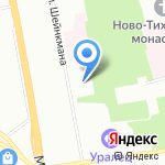 Антарес на карте Екатеринбурга