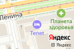 Схема проезда до компании TENET в Екатеринбурге