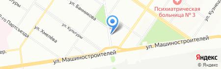 Галант на карте Екатеринбурга