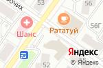 Схема проезда до компании Цветочная лавка в Екатеринбурге