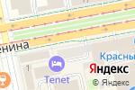 Схема проезда до компании Европейский в Екатеринбурге