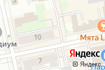 Схема проезда до компании Санталина в Екатеринбурге