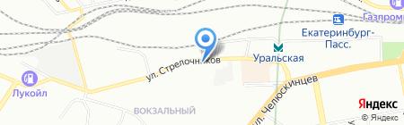 Почтовое отделение №107 на карте Екатеринбурга