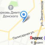 Чкаловский на карте Екатеринбурга