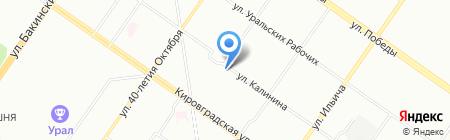 Почтовое отделение №143 на карте Екатеринбурга