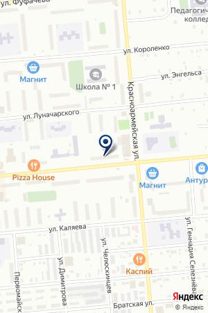 МАГАЗИН КЛЕОПАТРА на карте Серова