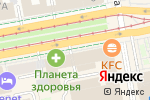 Схема проезда до компании Кладезь Рукодельницы в Екатеринбурге