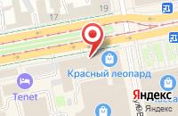 Схема проезда до компании ИнтерМедиа в Екатеринбурге