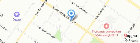 Алтего-групп на карте Екатеринбурга