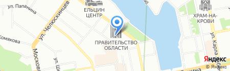 Почтовое отделение №31 на карте Екатеринбурга