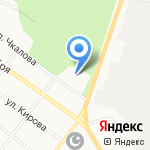 ДЮСШ по автомотоспорту на карте Верхней Пышмы