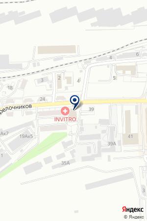 Сауна Армения на карте Екатеринбурга