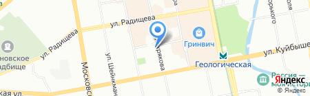 ЭкоДомСтрой на карте Екатеринбурга