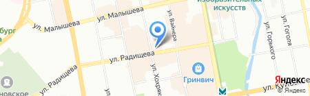 Le Terroir на карте Екатеринбурга