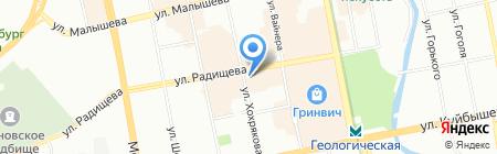 Райсан Palace на карте Екатеринбурга