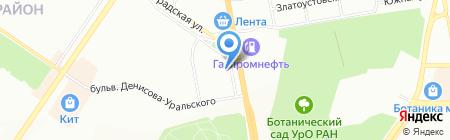 Десятое Королевство на карте Екатеринбурга