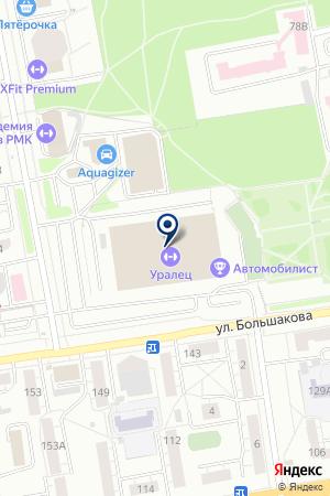 Арт-Джем на карте Екатеринбурга