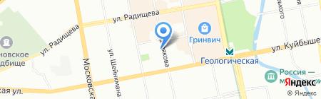 Уралчип на карте Екатеринбурга