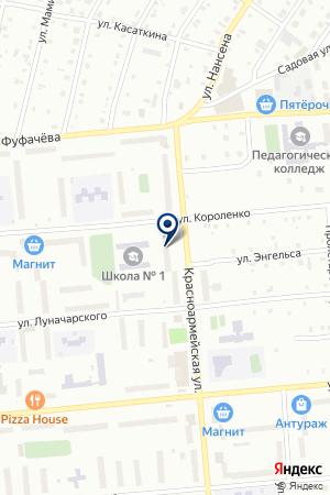 МАГАЗИН САДОВОЕ КОЛЬЦО на карте Серова