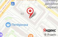 Схема проезда до компании Ткани Italia в Екатеринбурге