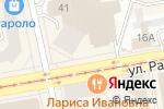 Схема проезда до компании Мебель Horeca в Екатеринбурге