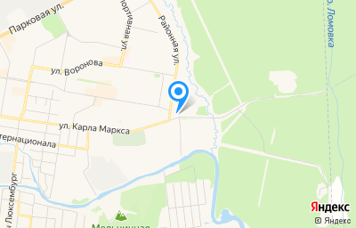Местоположение на карте пункта техосмотра по адресу Свердловская обл, г Верхняя Салда, ул Районная, д 1А к 2