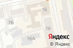 Схема проезда до компании California SHOP в Екатеринбурге