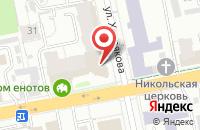 Схема проезда до компании Техпромснаб в Екатеринбурге