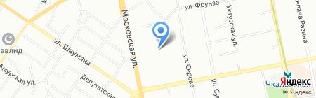 Ланкон на карте Екатеринбурга