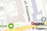 Схема проезда до компании Админ-Сервис в Екатеринбурге
