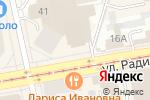 Схема проезда до компании Облака в Екатеринбурге