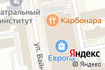 Схема проезда до компании Wolford в Екатеринбурге