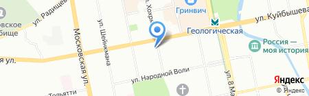 Регион-Маркет на карте Екатеринбурга