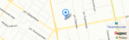 Технологии Лизинга на карте Екатеринбурга