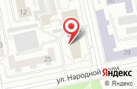 Схема проезда до компании Ur66.top в Екатеринбурге