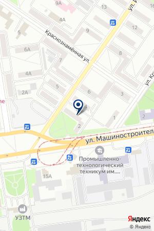 Бизнес-групп на карте Екатеринбурга