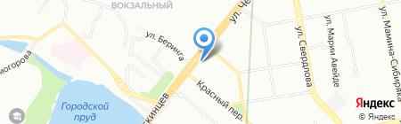Магмика на карте Екатеринбурга
