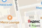 Схема проезда до компании Центр банковских решений в Екатеринбурге