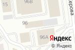 Схема проезда до компании ГоризонтГео в Екатеринбурге