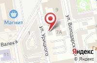 Схема проезда до компании Мегастар в Екатеринбурге