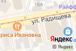 Схема проезда до компании MILANO MODA OUTLET в Екатеринбурге
