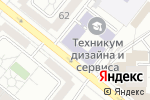 Схема проезда до компании Столовая на Красном в Екатеринбурге