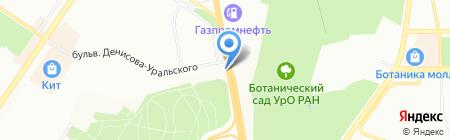 Ford auto на карте Екатеринбурга