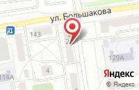 Схема проезда до компании Уралполиграфия в Екатеринбурге