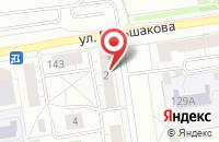 Схема проезда до компании Элитгарант в Екатеринбурге