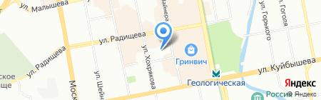 Средняя общеобразовательная школа №10 с углубленным изучением отдельных предметов на карте Екатеринбурга