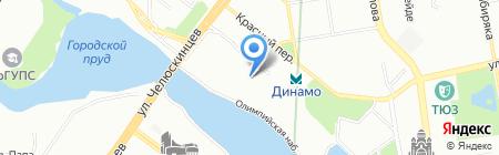 Элефант на карте Екатеринбурга