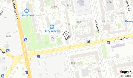 Пуэр-хостел. Схема проезда в Екатеринбурге