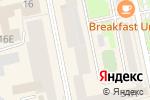 Схема проезда до компании 585 GOLD в Екатеринбурге