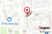 Схема проезда до компании Наутилус в Екатеринбурге